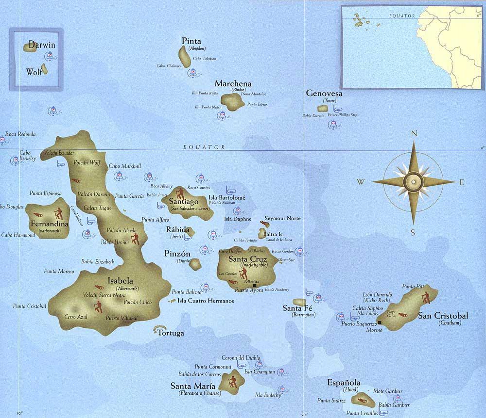 zemljevid otočja